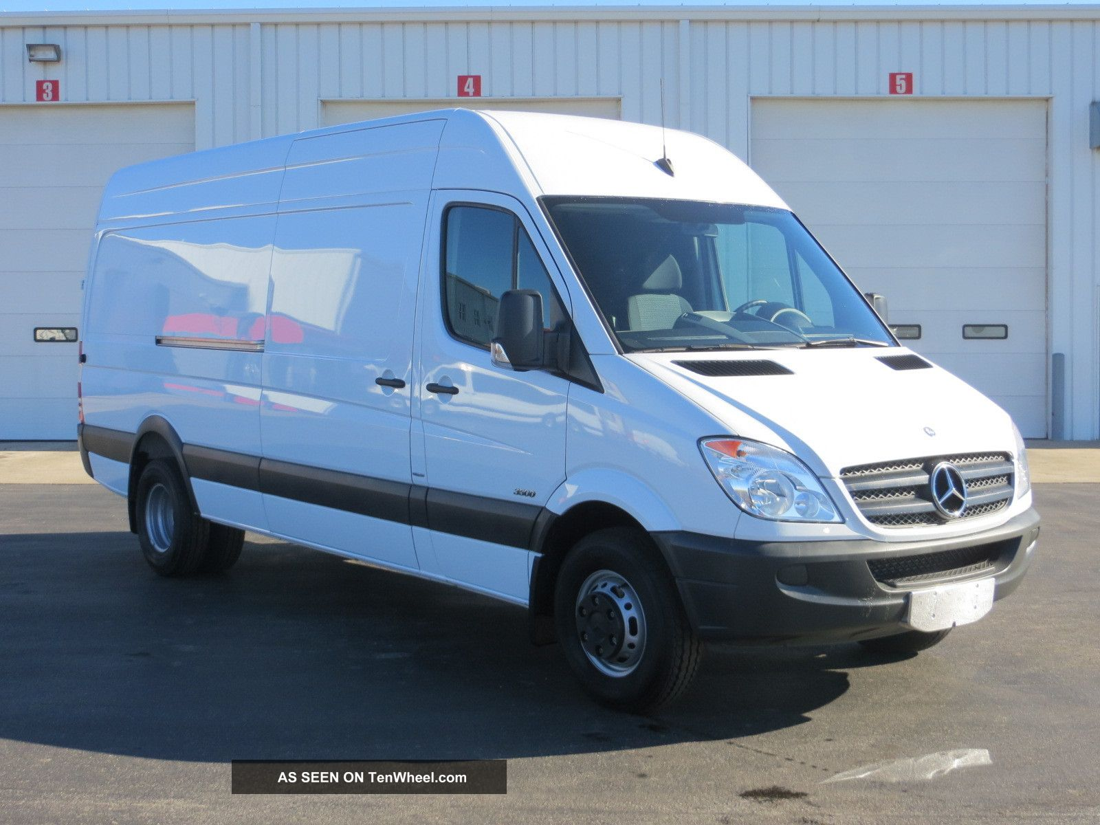 2012 mercedes benz sprinter 3500 for Mercedes benz 3500 sprinter