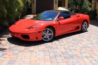 2004 Ferrari 360 Spider Convertible 2 - Door 3.  6l photo