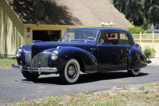 1941 Lincoln Continental Coupe V12 photo