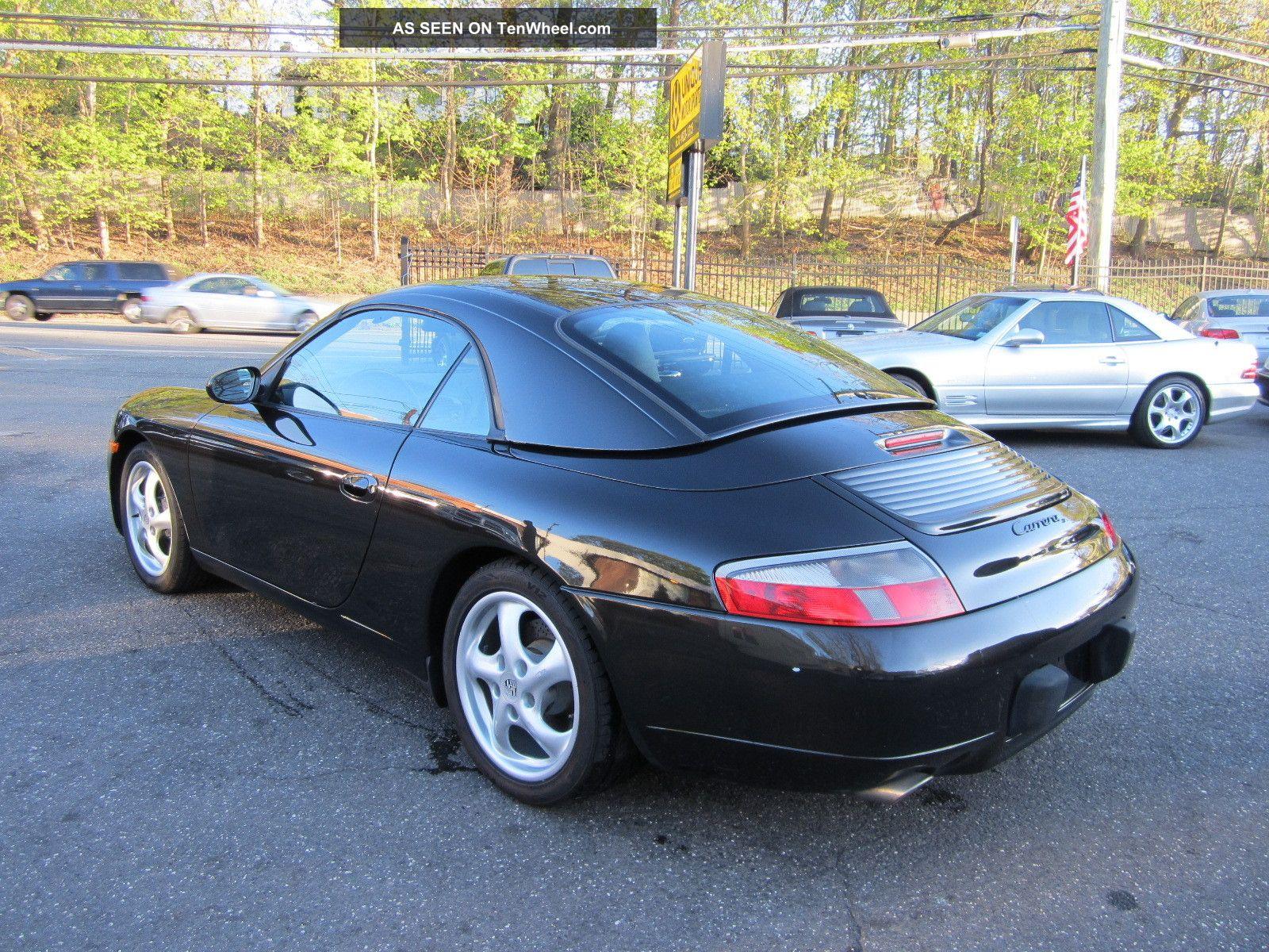 1999 porsche 911 carrera cabrio with factory hardtop. Black Bedroom Furniture Sets. Home Design Ideas