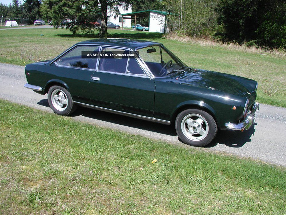 1968 fiat 124 sport coupe california car. Black Bedroom Furniture Sets. Home Design Ideas