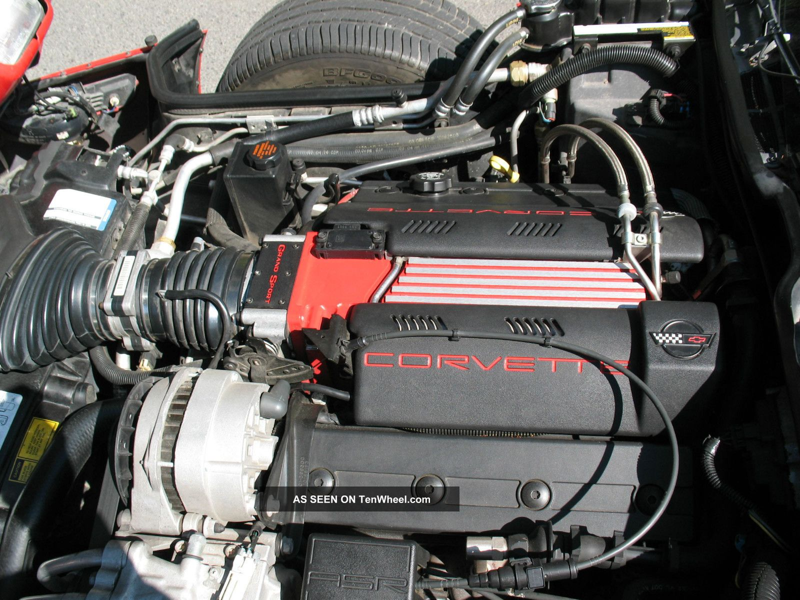 1996 Corvette 6 Spd Manual Lt4 Engine