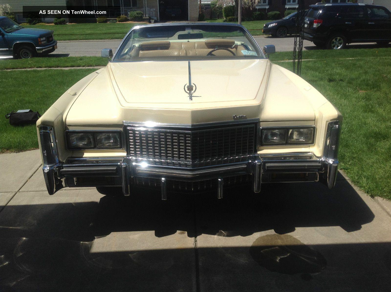 1976 Cadillac Eldorado Base Convertible 2 - Door 8.  2l Eldorado photo