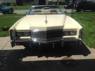 1976 Cadillac Eldorado Base Convertible 2 - Door 8.  2l photo