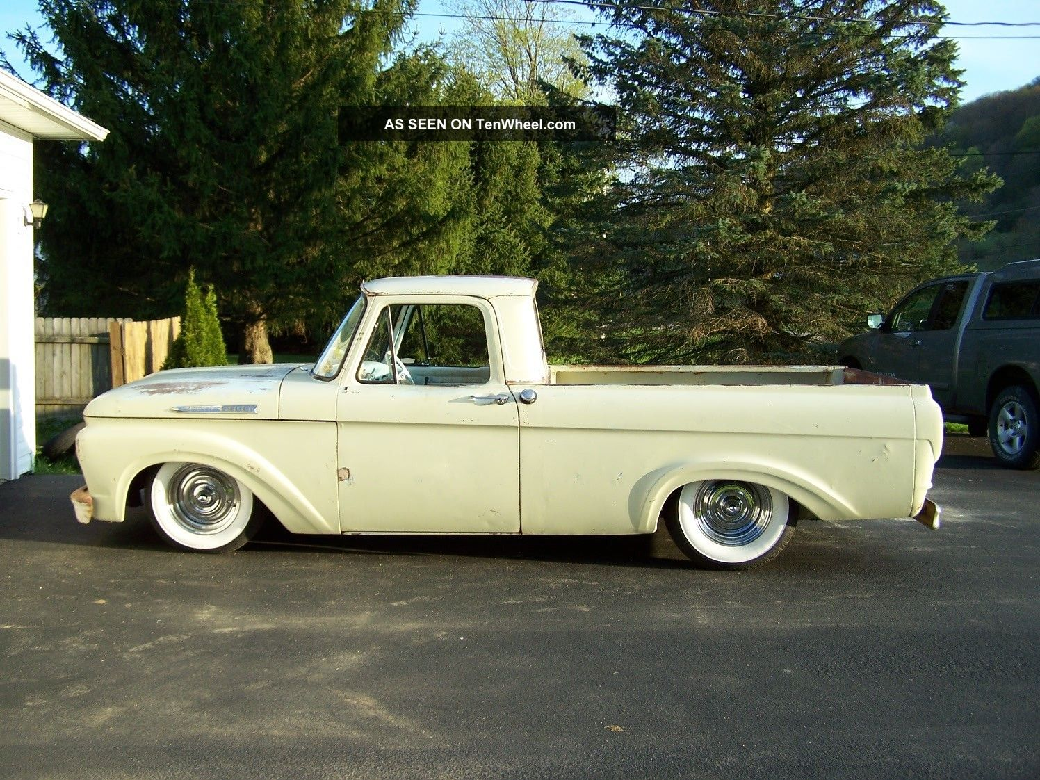 1962 ford f101unibody hot rod short box