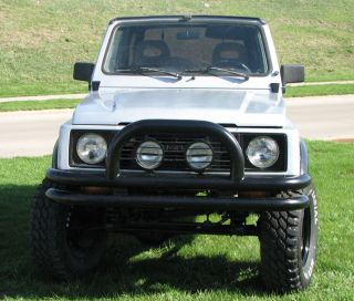 1987 Suzuki Samurai 4x4 Reconditioned Rust Suv Lifted photo