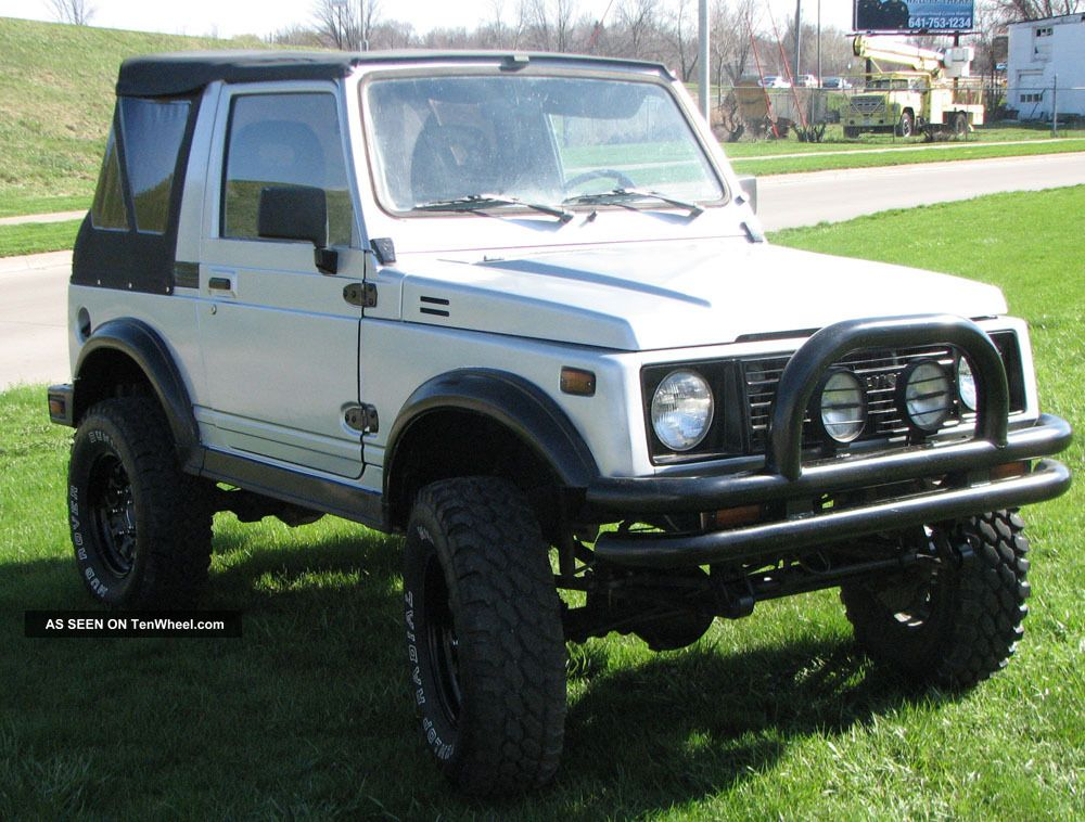 1987 Suzuki Samurai 4x4 Reconditioned Rust Suv Lifted