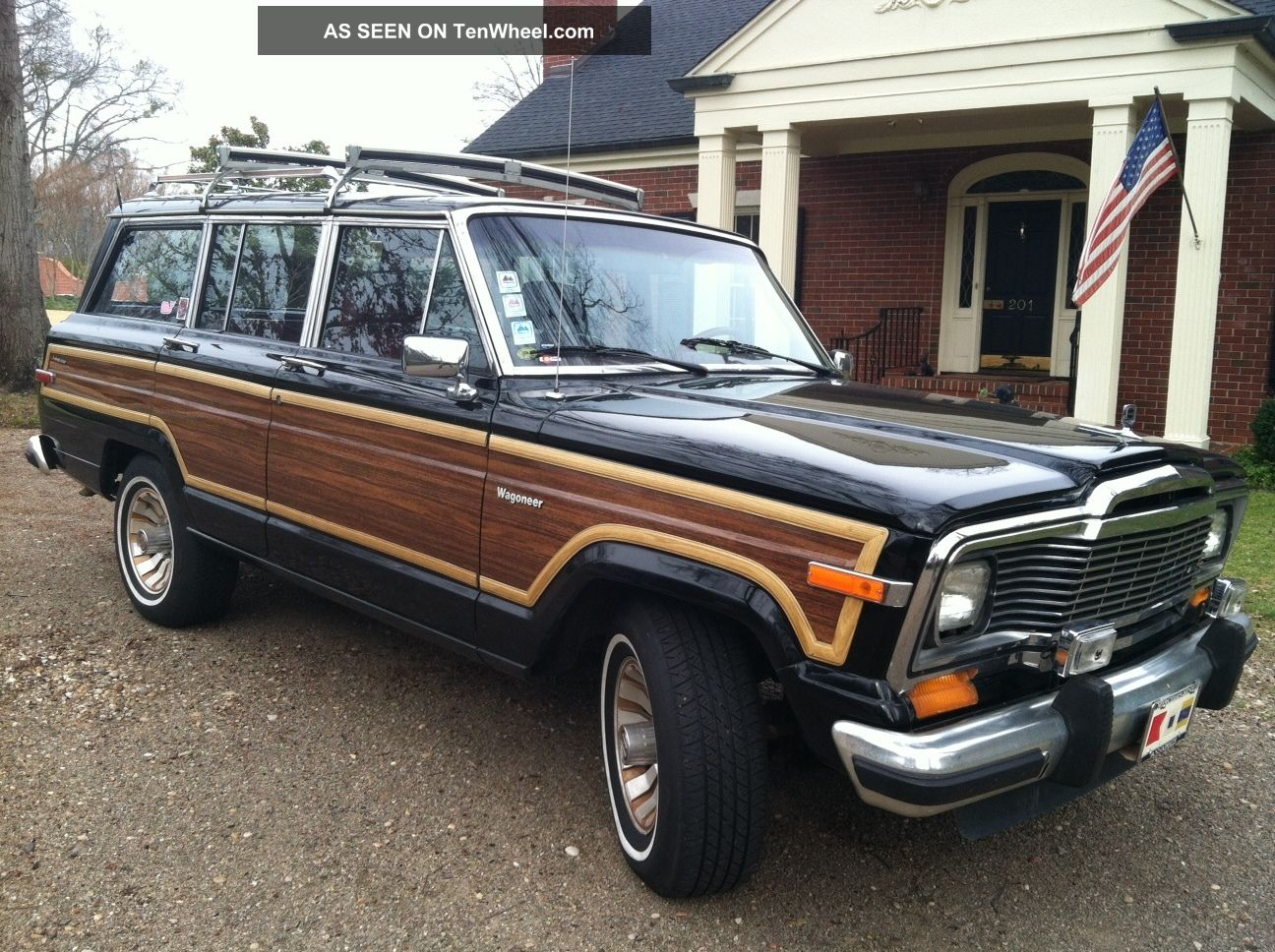 1985 jeep grand wagoneer absolutely no rust. Black Bedroom Furniture Sets. Home Design Ideas