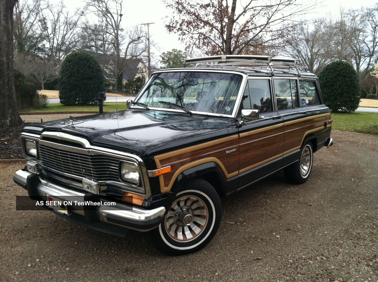 1985 Jeep Grand Wagoneer Absolutely No Rust
