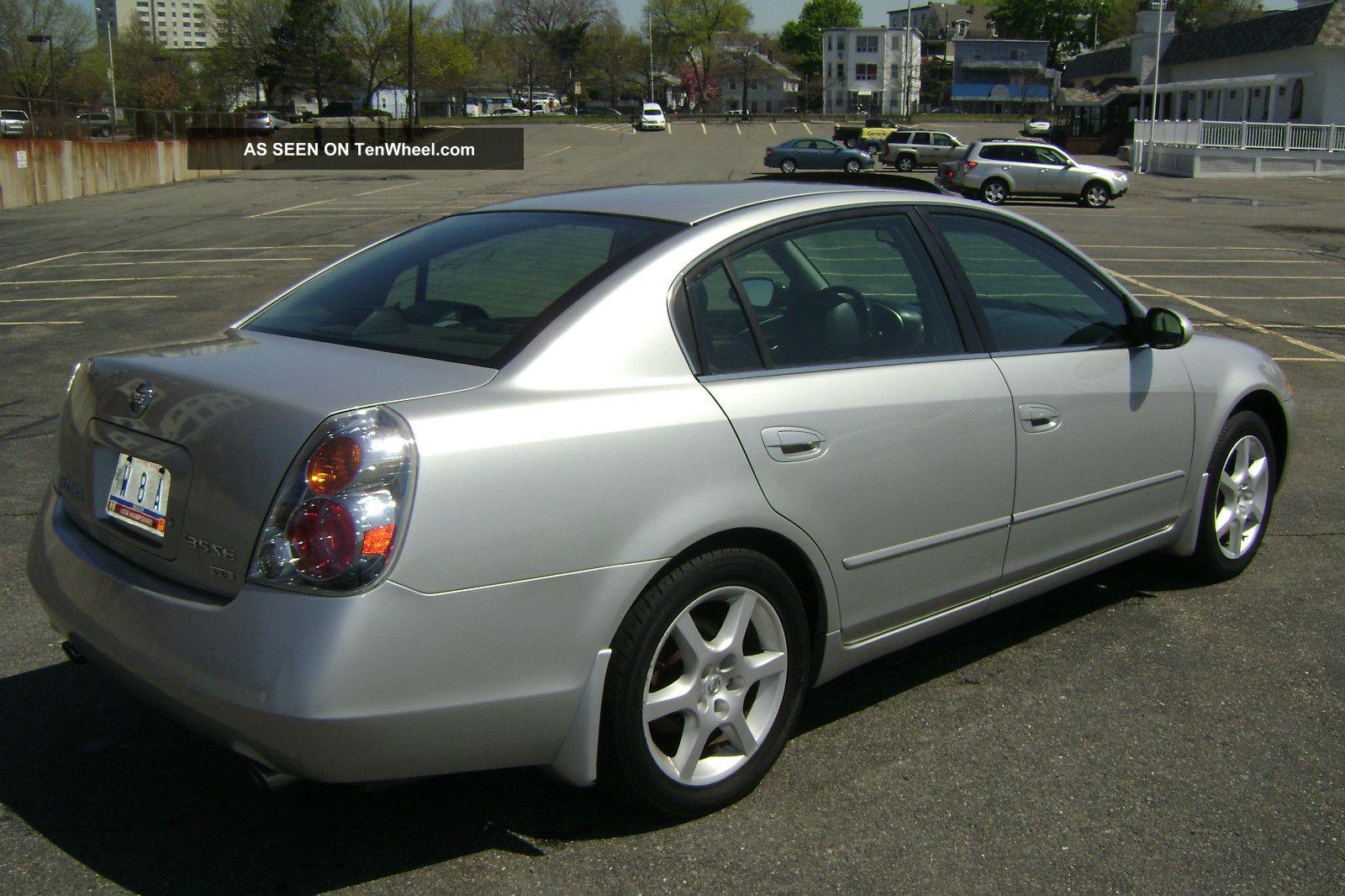 2004 Nissan Altima Se V6 Auto