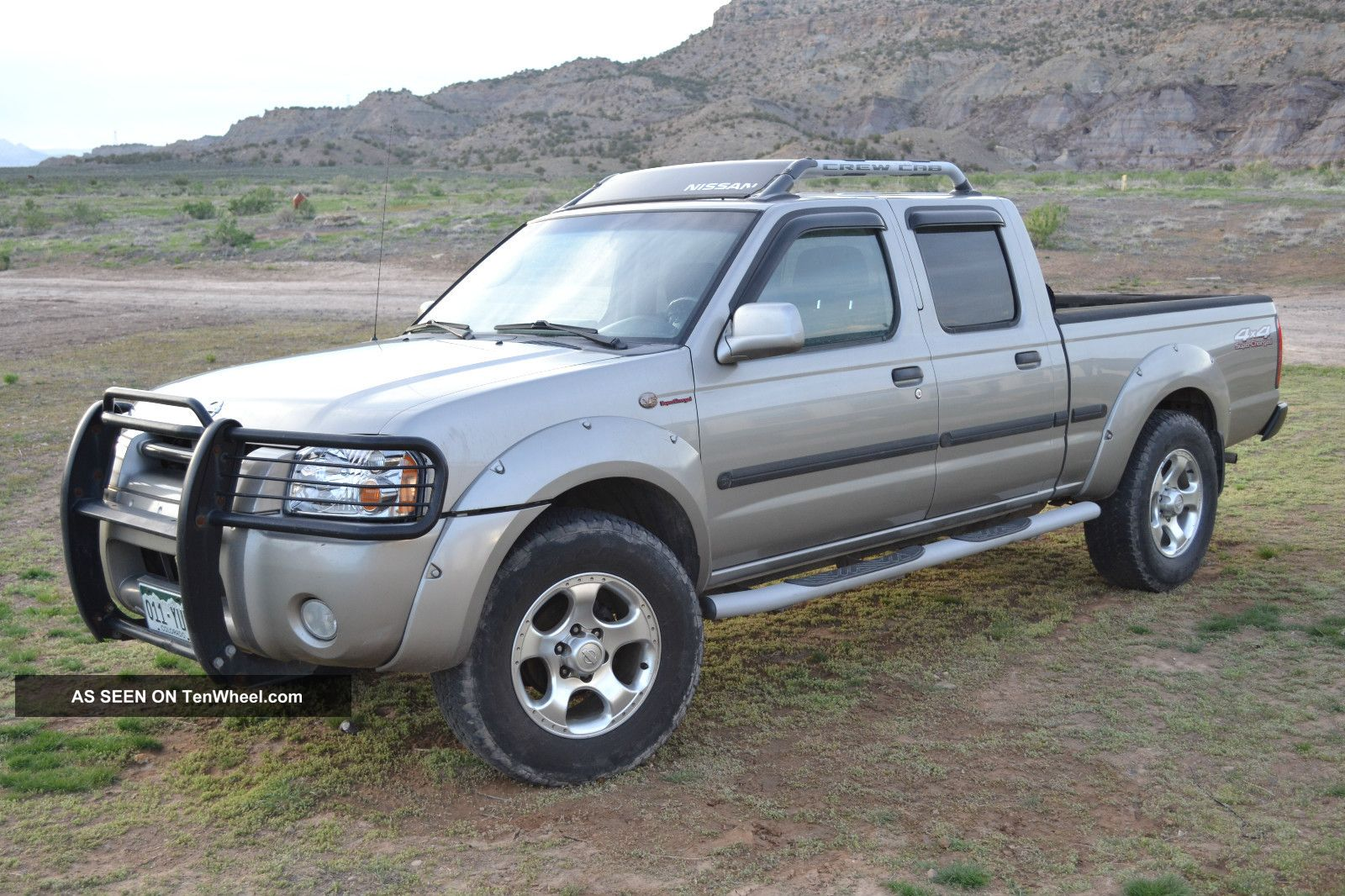 2002 Nissan Frontier Crew Cab Supercharged 4x4