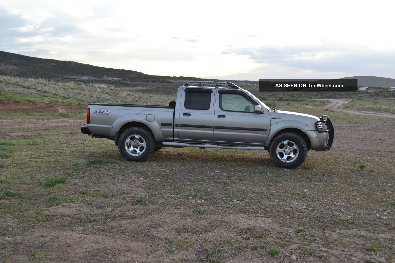2002 nissan frontier crew cab supercharged 4x4. Black Bedroom Furniture Sets. Home Design Ideas