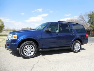 2012 Ford Expedition Xlt 4wd 3 Row 8 Pass Sync Sirius photo