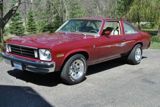 1975 Chevrolet Nova Ln Coupe 2 - Door 5.  7l photo