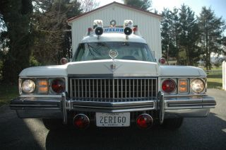 1973 Miller Meteor Cadillac Ambulance photo