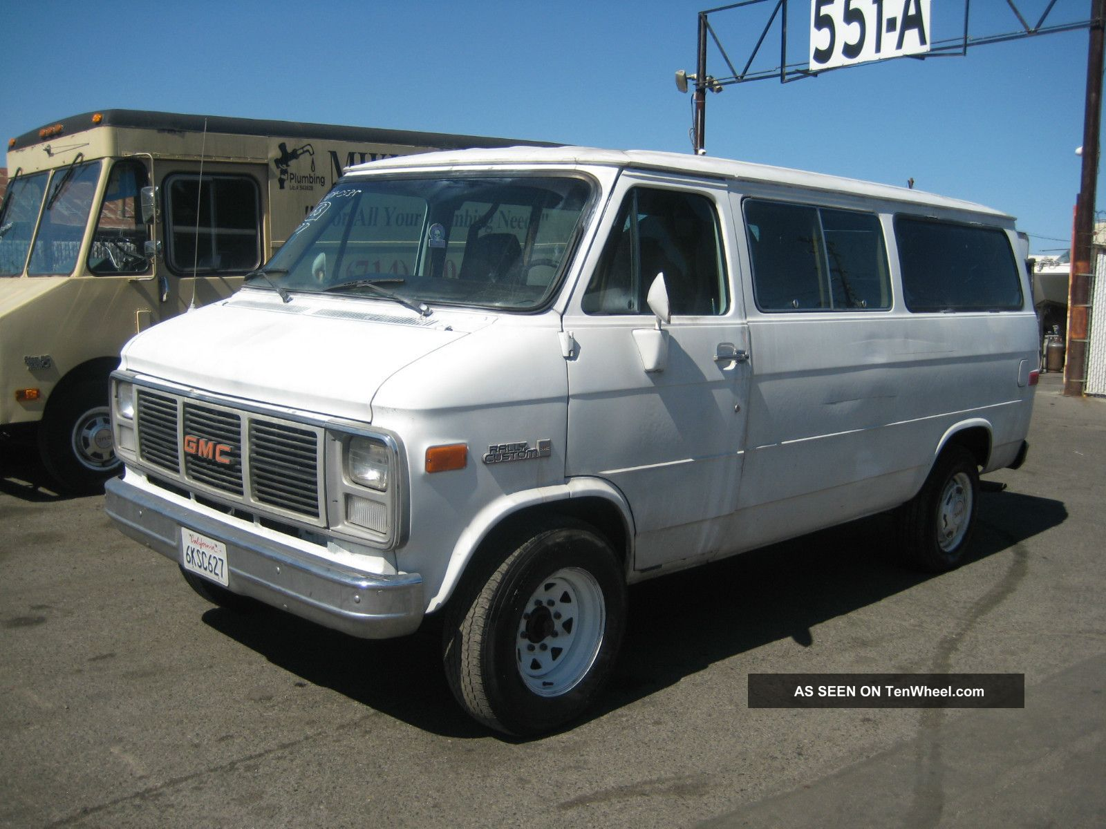 Gmc rally van #1
