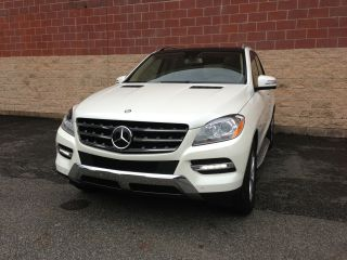 2012 Mercedes - Benz Ml350 Bluetec photo