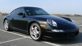 2005 Porsche 911 Carrera S Coupe 997 Black Crono Sport Pkg 3.  8l 6 Speed Bose photo
