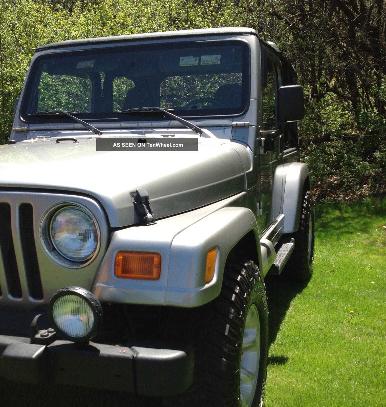 2001 Jeep Wrangler Sport Sport Utility 2