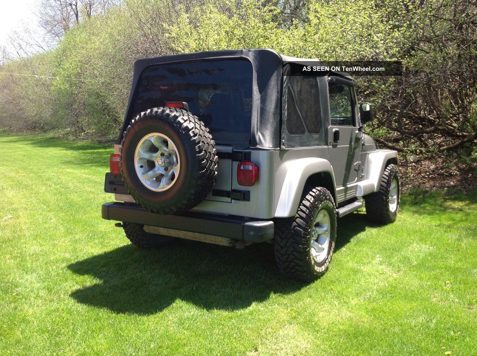 2001 jeep wrangler sport sport utility 2 door 4 0l. Black Bedroom Furniture Sets. Home Design Ideas