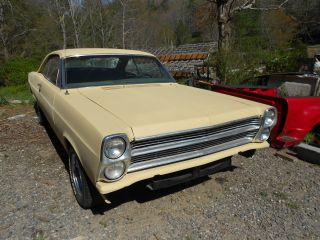 1966 Ford Fairlane 500xl Console Bucket Seats photo