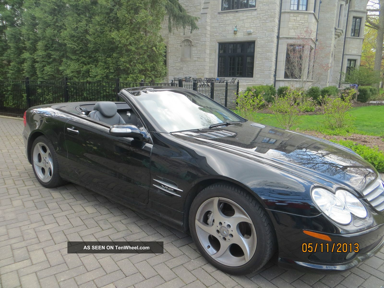 2004 mercedes sl 600 v12 roadster turbocharged. Black Bedroom Furniture Sets. Home Design Ideas