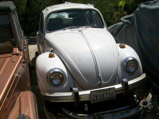 1969 Volkswagen Sedan Non - Operational Registered - Complete Car photo