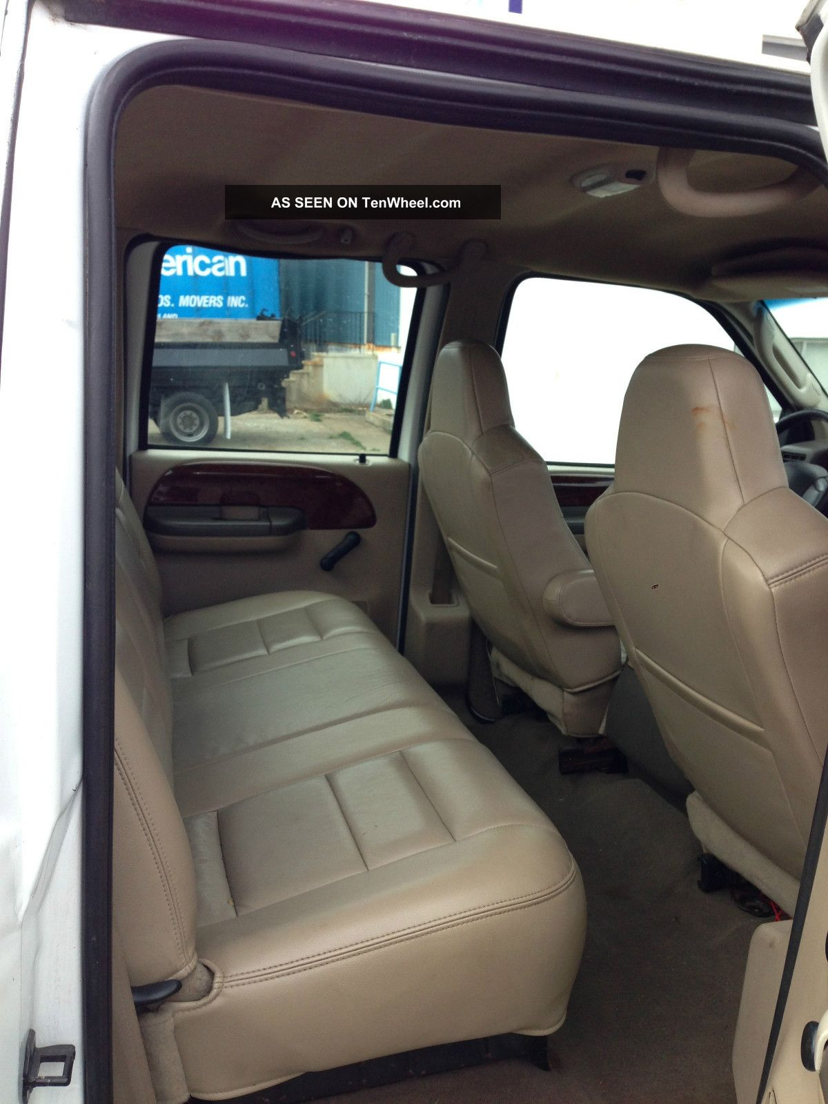 2003 Ford F350 7  3 Litre Diesel Dually Crew Cab Interior