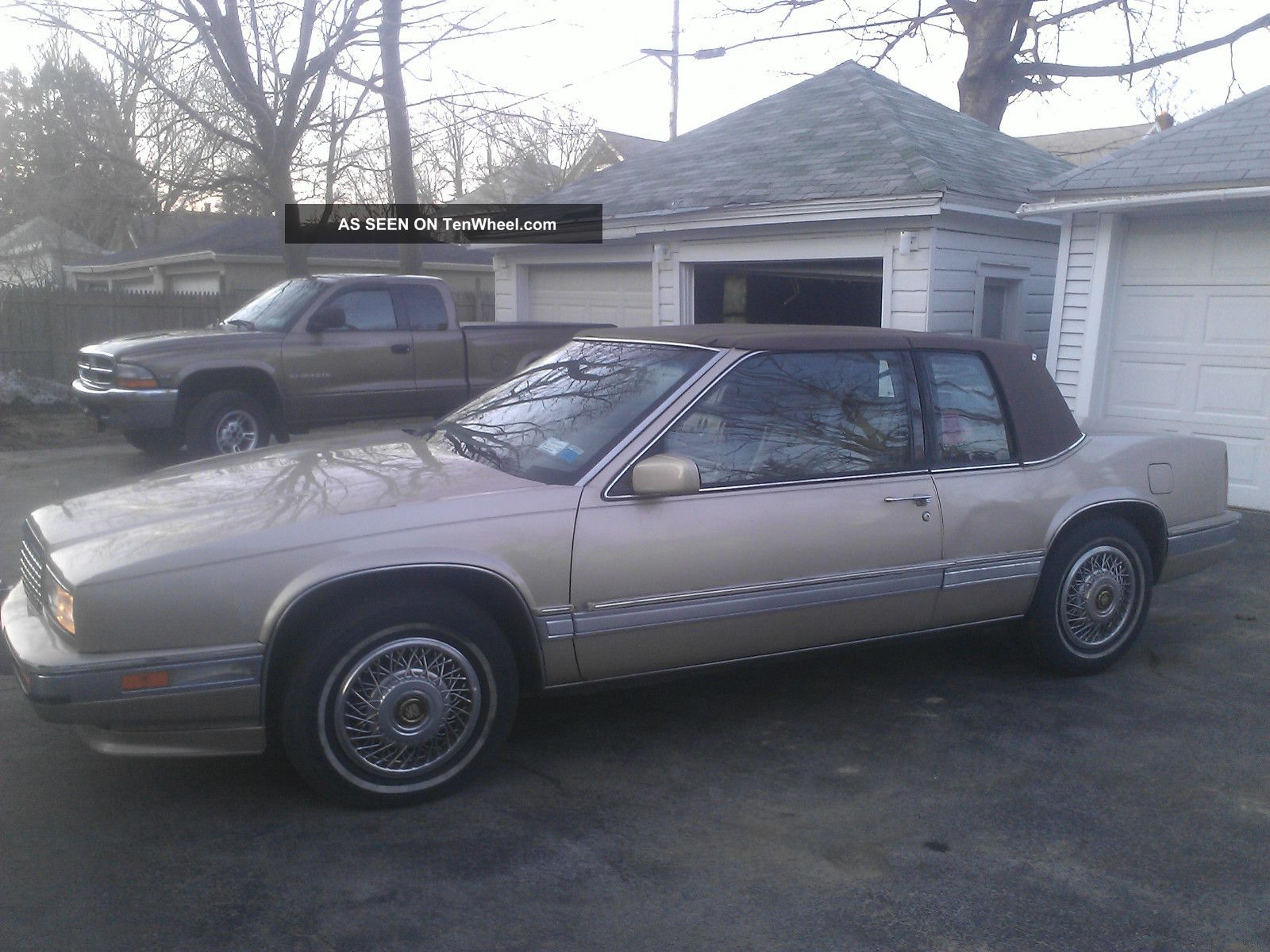 1989 Cadillac Eldorado Base Coupe 2 - Door 4.  5l - Lowered Opening Bid - Eldorado photo
