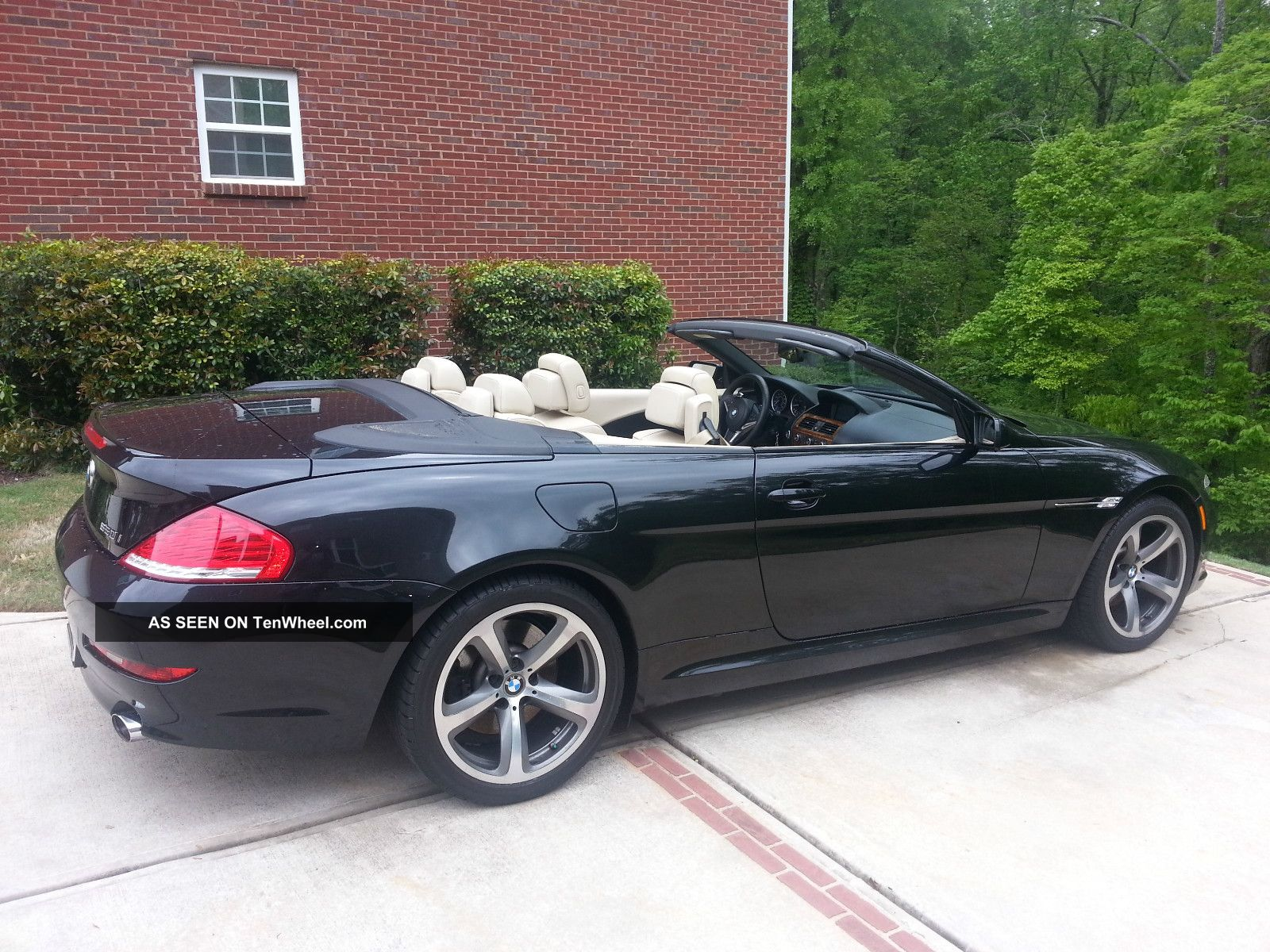 2008 Bmw 650i Base Convertible 2 Door 4. 8l 6 Series photo 9