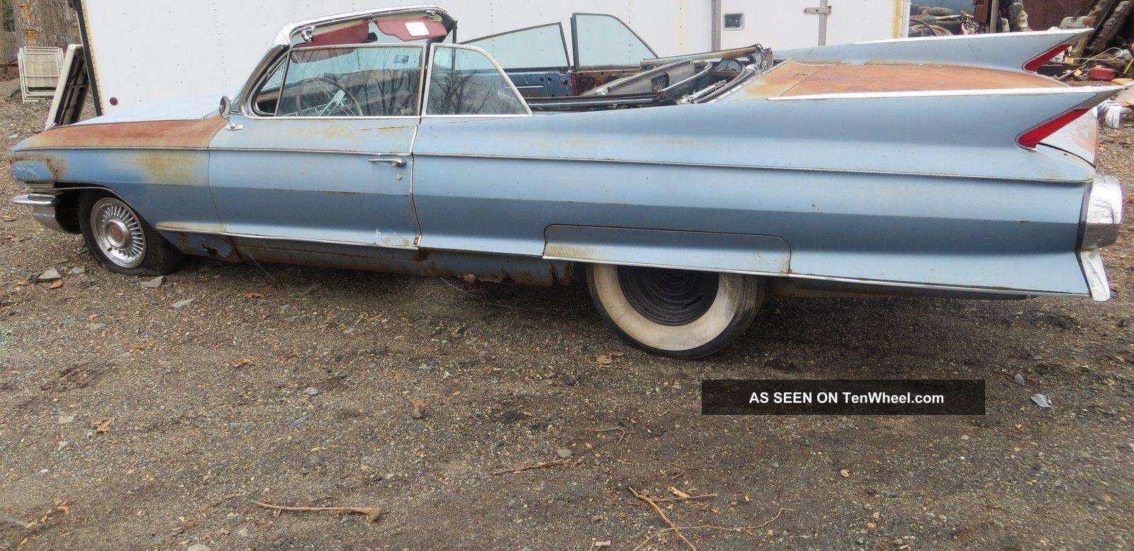 1961 Eldorado Project Car No Res Must Sell May Deliver Eldorado photo