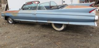 1961 Eldorado Project Car No Res Must Sell May Deliver photo