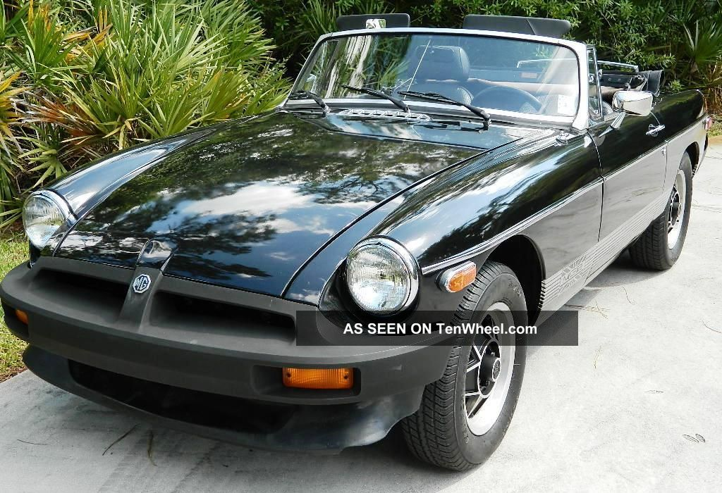 1980 Mgb Limited Edition - Perfect Vehicle With Factory Paint - Awesome MGB photo