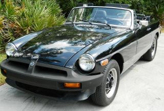 1980 Mgb Limited Edition - Perfect Vehicle With Factory Paint - Awesome photo