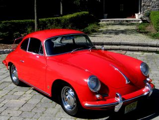 1962 B 1600s Coupe,  Rare Factory Signal Red,  Black,  Nut &bolt Resto,  ' Smatchingmint photo