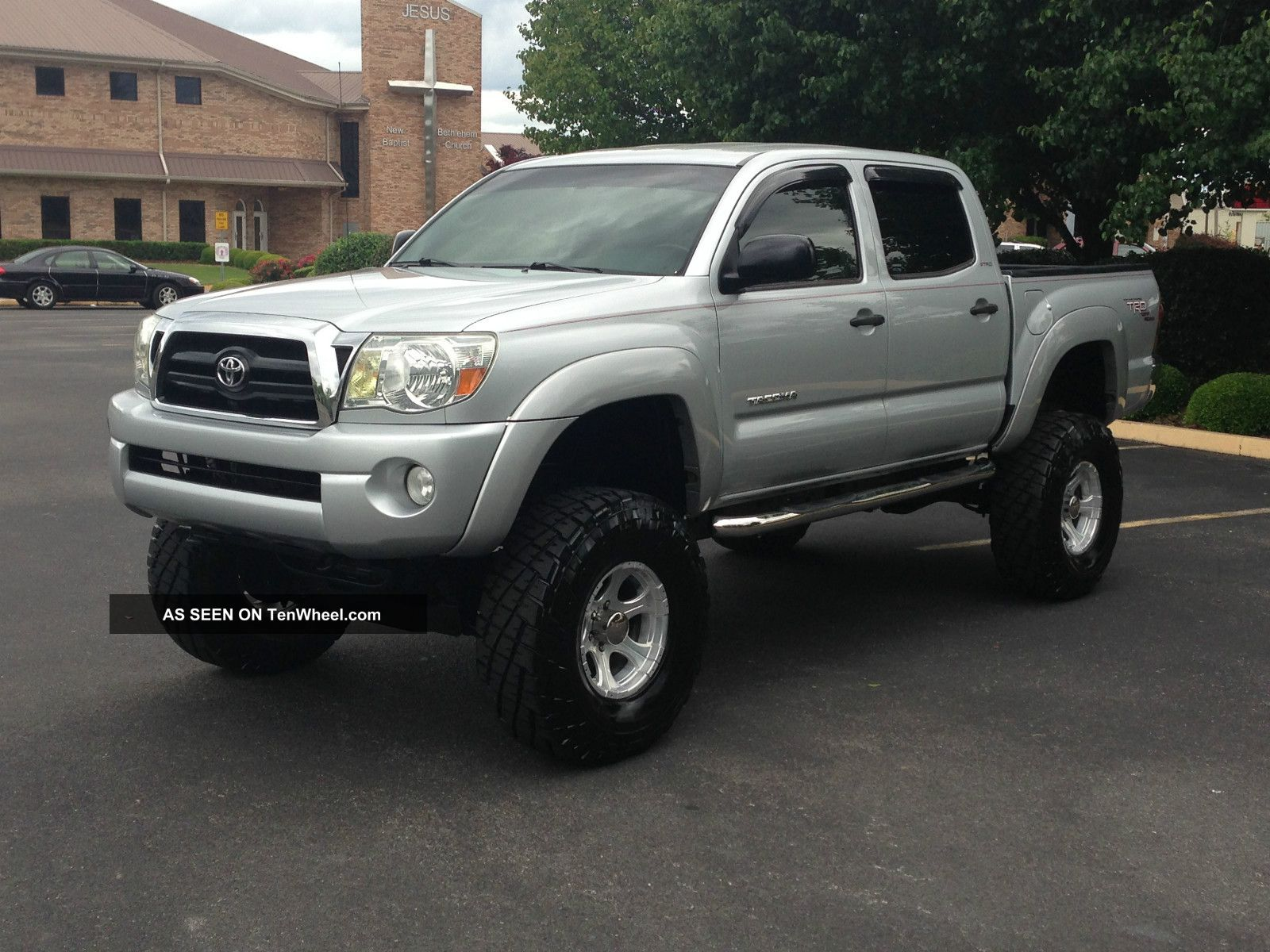 2006 Toyota Tacoma Sr5 Crew Cab Trd Off Road Lifted Tacoma photo