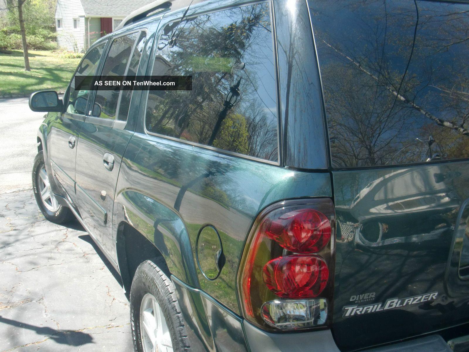 2003 Chevrolet Trailblazer Lt Ext 4wd Chevy Cd Player