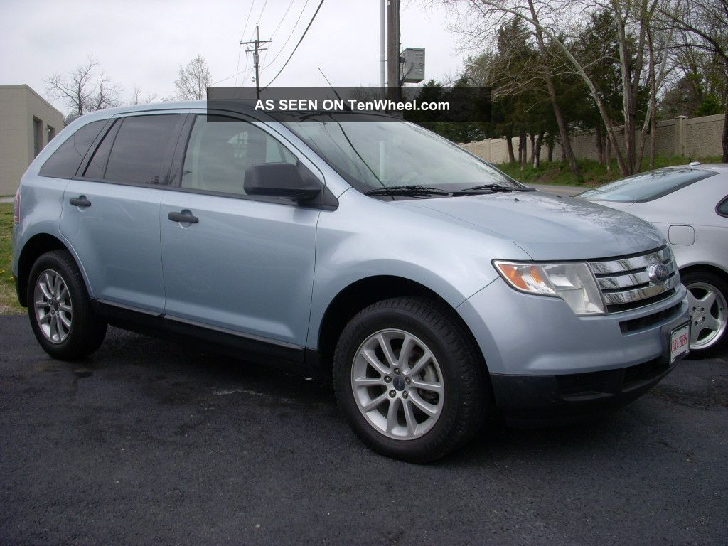 2008 Ford Edge Sl - Dvd - All Pwr Options - Michelin Tires - Priced To Sell Edge photo