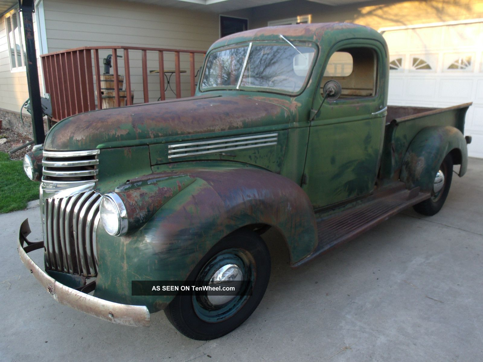 1941 Chevy Pickup 1 2 Ton Rat Ford Pick Up