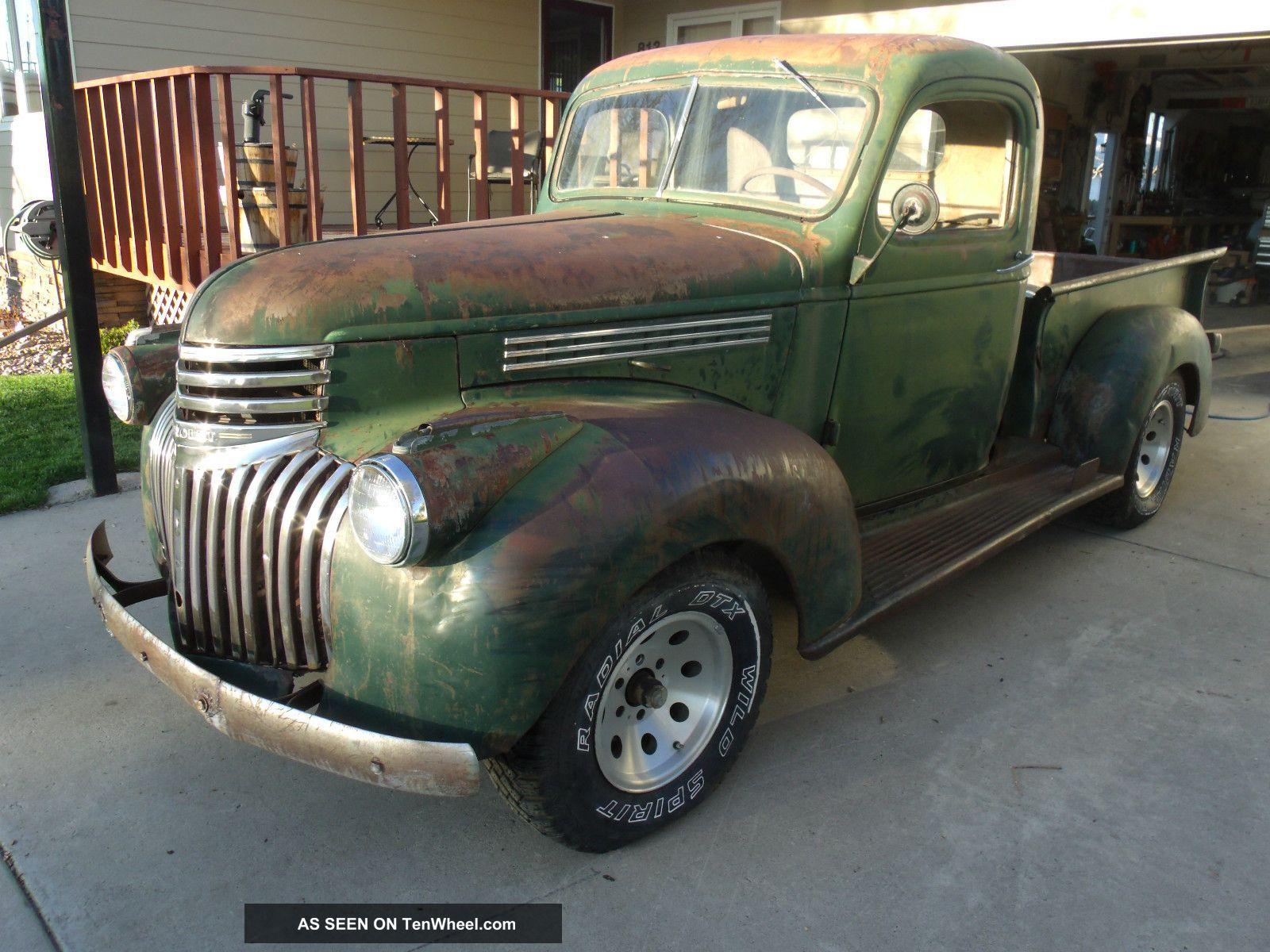 1941 Chevy Pickup 1 / 2 Ton Rat Other Pickups photo