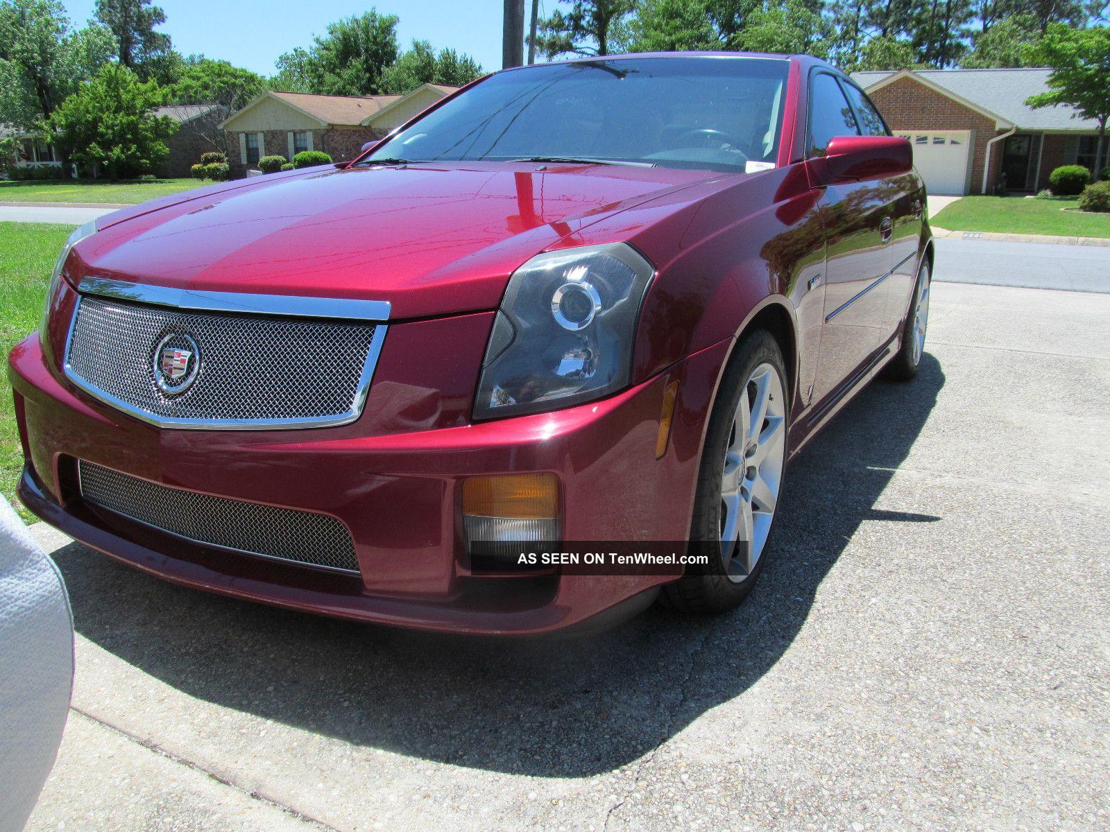 2006 Cadillac Cts - V,  6 Speed,  Manual - All Options - No Damage - No Smoking CTS photo