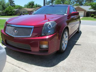 2006 Cadillac Cts - V,  6 Speed,  Manual - All Options - No Damage - No Smoking photo