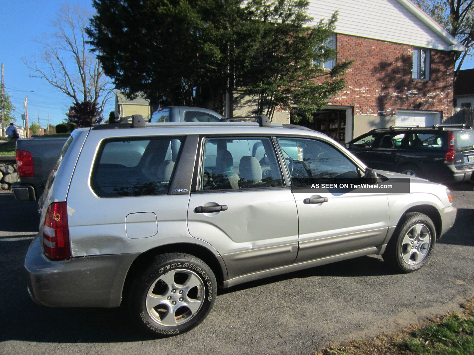forester xdrive  wheel drive cylinder  clear