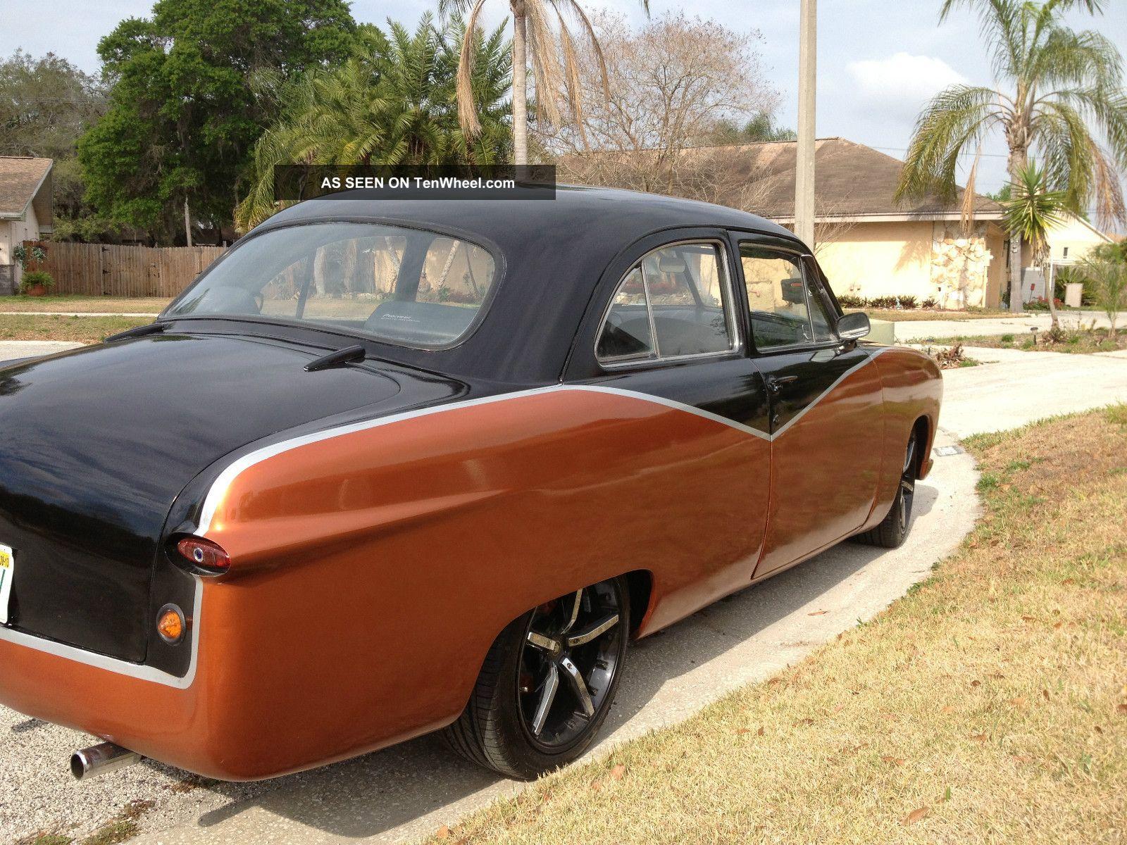 1950 ford deluxe 2 door sedan customized for 1950 ford 4 door