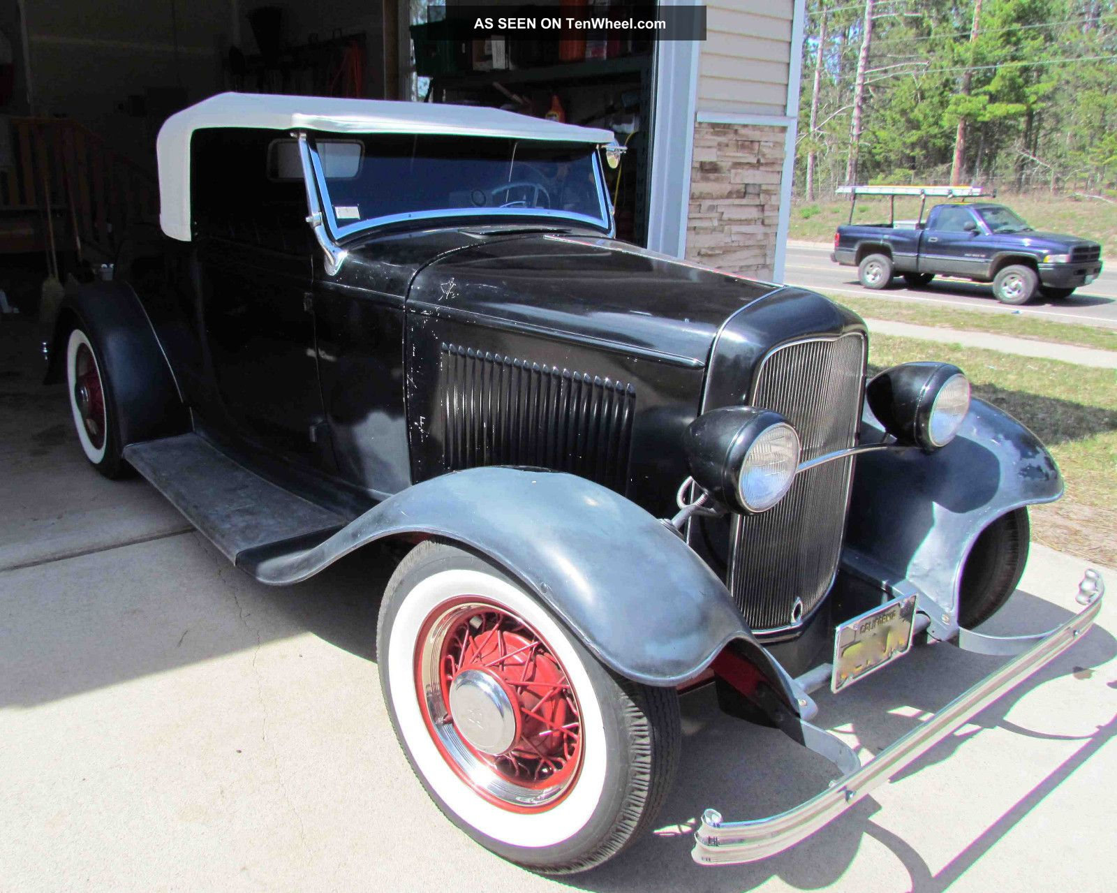 1932 Ford Roadster Henry Steel Flathead 8ba 3 - Speed O.  D.  Scta Hot Street Rod Other photo