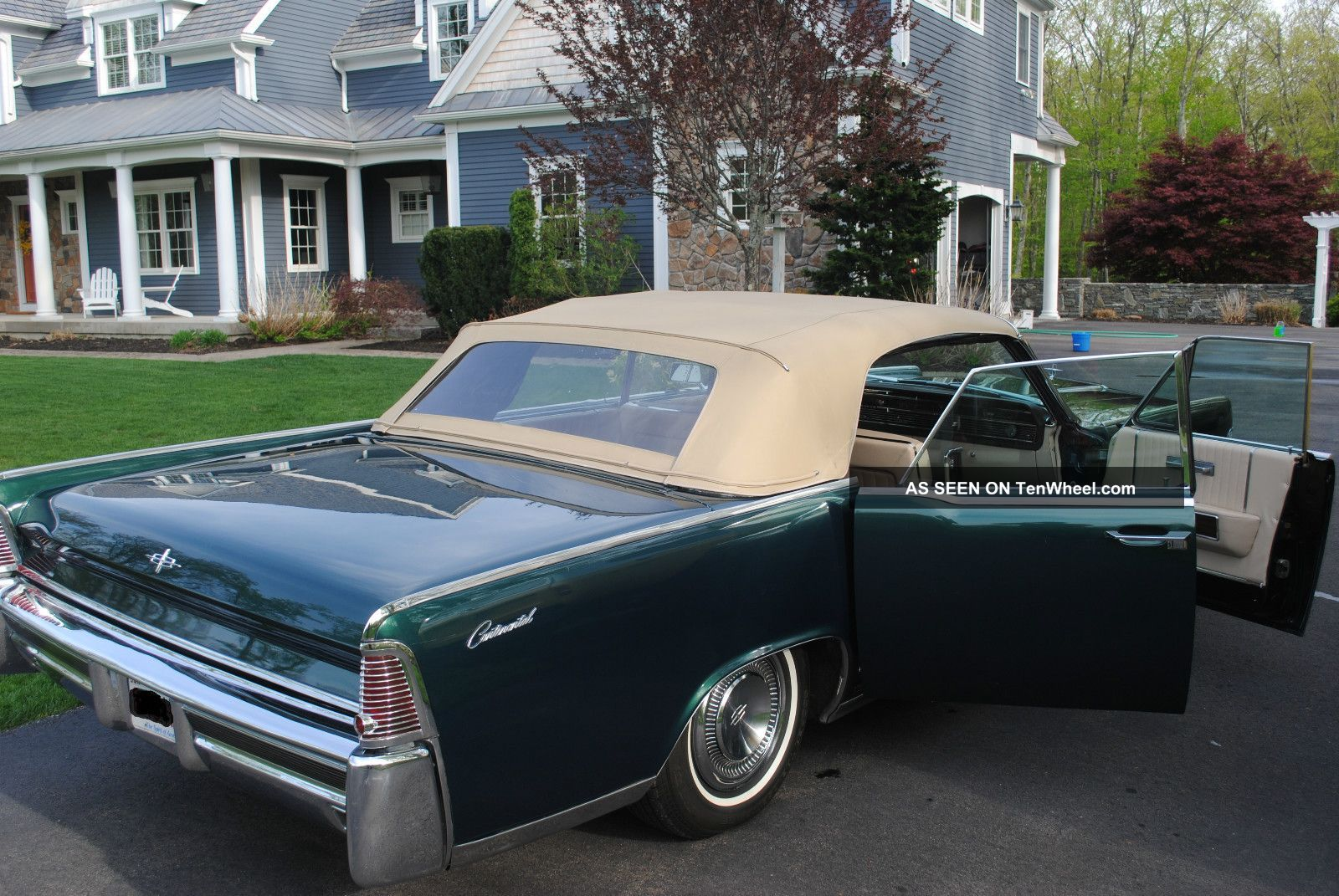 1965 lincoln continental convertible mechanically. Black Bedroom Furniture Sets. Home Design Ideas