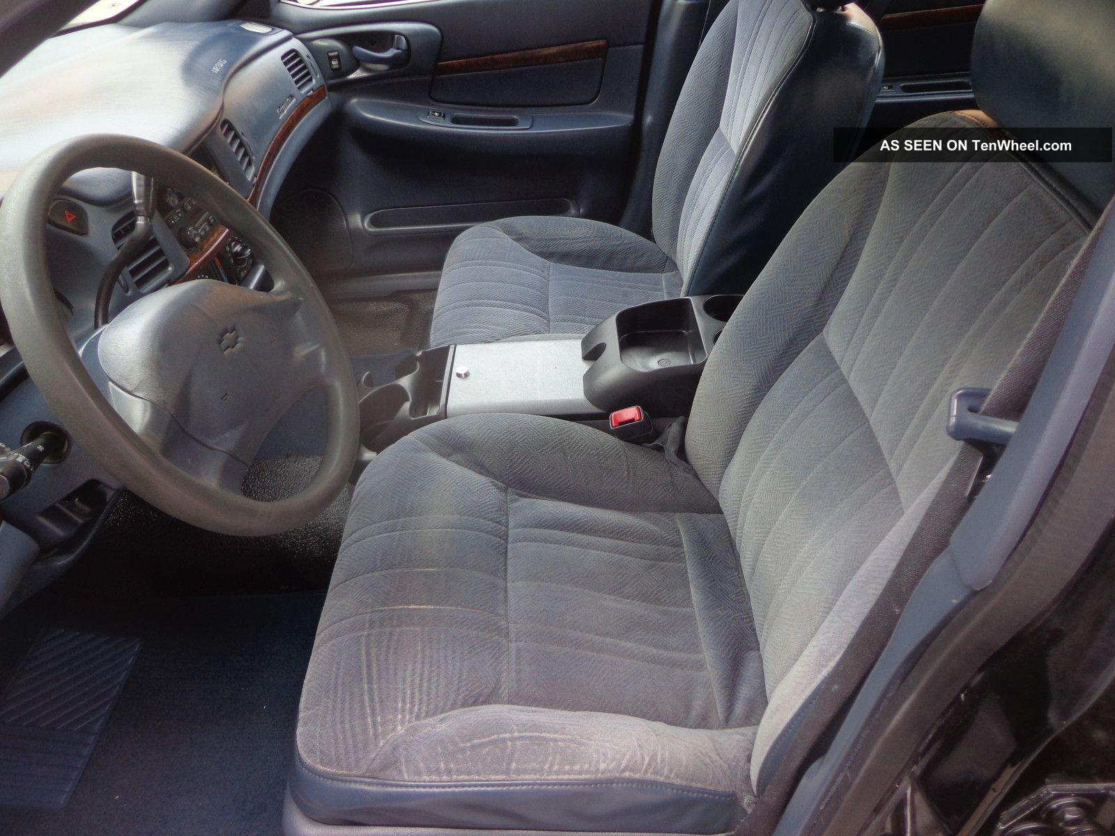 2005 Chevrolet Impala Base Sedan 4 Door 3 8l Police 9c1