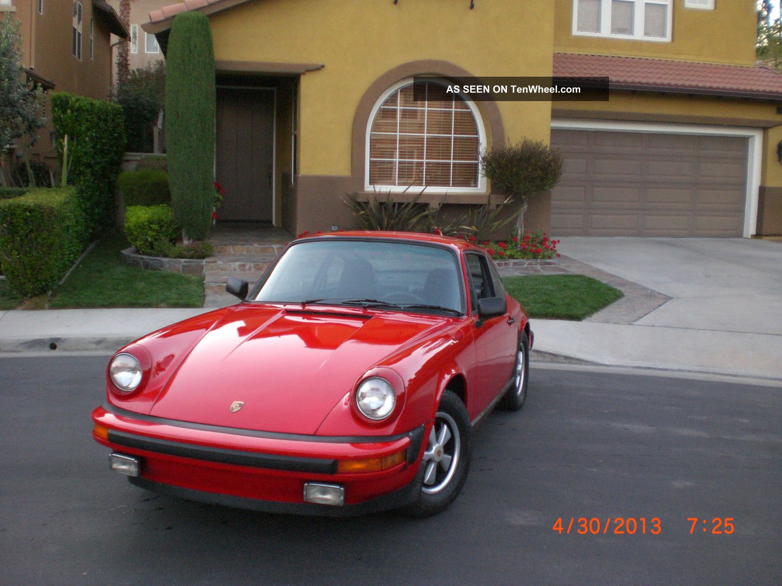 1974 Porsche 911,  Red, ,  No Rust,  Car, , 911 photo
