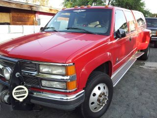 1996 Chevrolet K3500 Silverado Crew Cab Pickup 4 - Door 7.  4l photo