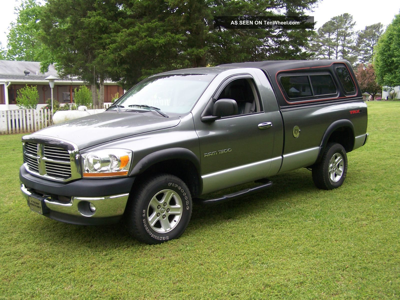 2006 dodge ram 1500 trx4 standard cab pickup 2 door 4 7l ram 1500. Black Bedroom Furniture Sets. Home Design Ideas